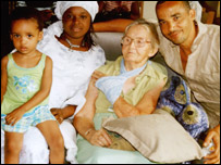 Sheila Solarin with family