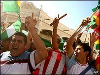 Protesters in Bolivia