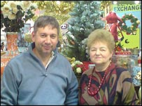 Adrian Dumitrescu and his mother Matilda