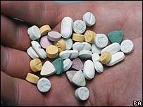 Ecstasy tablets