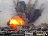 Israeli bombardment of Beirut