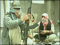 Kashmiri fighters