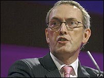 John Hutton, Pensions Secretary