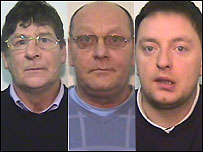 (l to r) Kenneth Lloyd, Robert Tyrer and Jamie Tyrer, pics from GMP