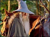 Sir Ian McKellen in The Fellowship of the Ring