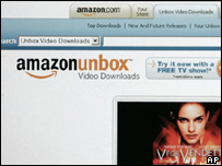 Amazon Unbox screen grab