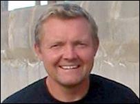 BBC reporter Tim Fenton