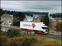 Ahlstrom lorry