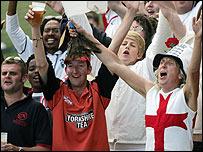 England's 'Barmy Army'