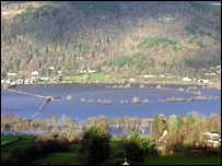 Loch Tay upstream of Aberfeldy  (Pic by Stuart Wagstaff)