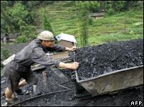 Chinese coal miner