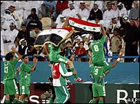 Iraqi football success
