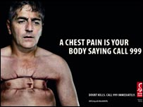British Heart Foundation campaign