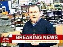 Declan Curry in Calais
