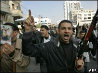 Anti-Hamas protest in Gaza