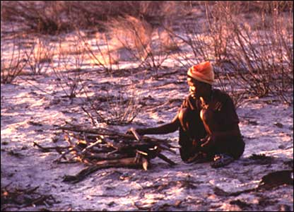 San people (file picture: Survival International)