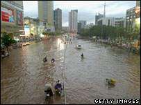 South China floods (file image)