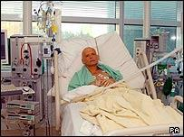 Alexander Litvinenko at the University College Hospital