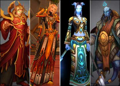 New Warcraft races, Blizzard