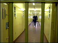 Brinsford Young Offenders Prison, outside Wolverhampton