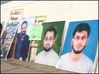Posters of people who have disappeared