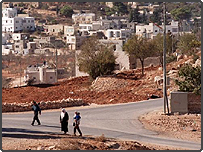 West Bank village