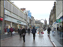 Paisley town centre