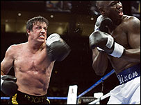 Sylvester Stallone and Antonio Tarver in Rocky Balboa