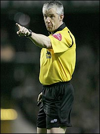 Top referee Chris Foy