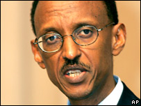 Rwandan President Paul Kagame