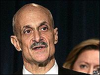 Michael Chertoff, secretario de Seguridad Interna de EE.UU.