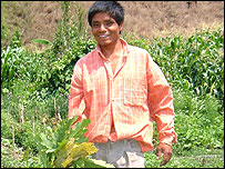 Mariano, agricultor en Nuevo San Miguel, Chiapas, M�xico