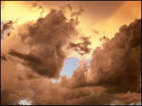 Storm clouds (BBC)