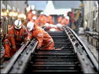 Track work - Pic: Network Rail