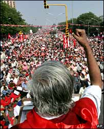 Protest rally in Delhi