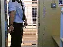 A prison cell