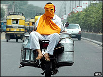 Motorcycle in India