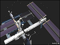 Current configuration of the International Space Station (Nasa)