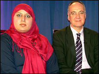 Shanaz Hussain and Professor Ted Cantle