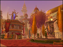 Screenshot from The Burning Crusade, Blizzard