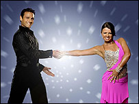 Mark Ramprakash and Karen Hardy