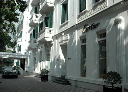 Cartier shop in Hanoi