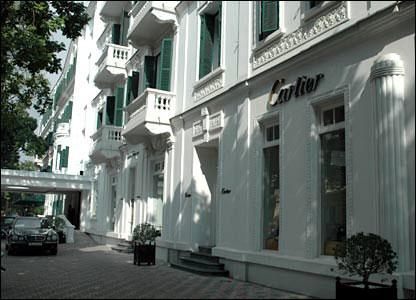 Cartier shop in Hanoi