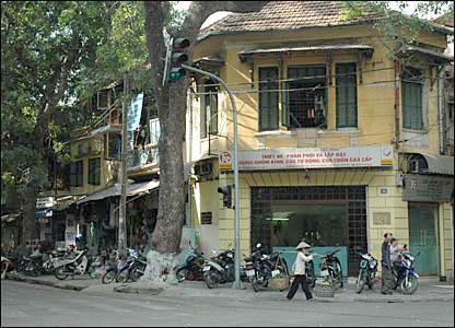 Hanoi�s old quarter