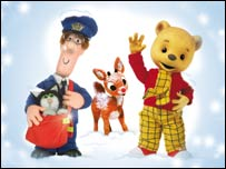 Postman Pat and Rupert the Bear