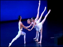 A performance by Scottish Ballet