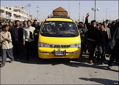 Funeral procession in Sadr City