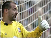 Goalkeeper Gabor Kiraly