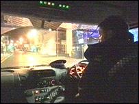 Police on patrol (generic)