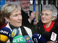 Ann Louise Gilligan (l) and Katharine Zappone (r)